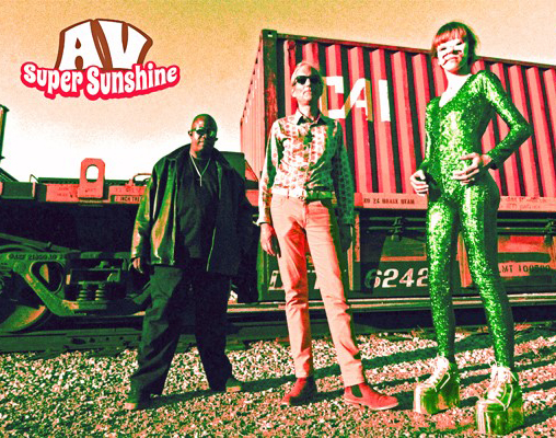 AV Super Sunshine I Am Alien cover pic 508x400