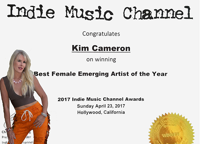 Kim Cameron indie Music Award copy 500x695